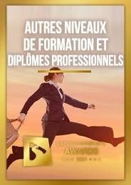 Autres niveaux de formations et Diplômes professionnels