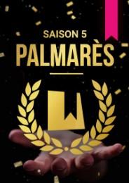 JE FILME MA FORMATION - Palmarès Saison 5