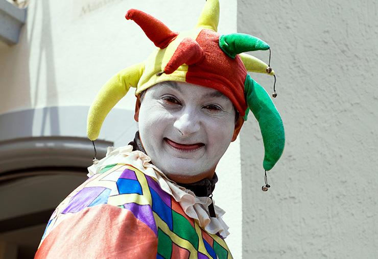 Métier : clown de rodéo