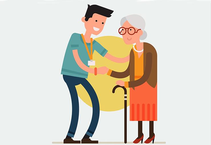 Aide à domicile : un métier mixte