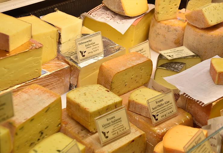 Le fromage, c'est sa passion