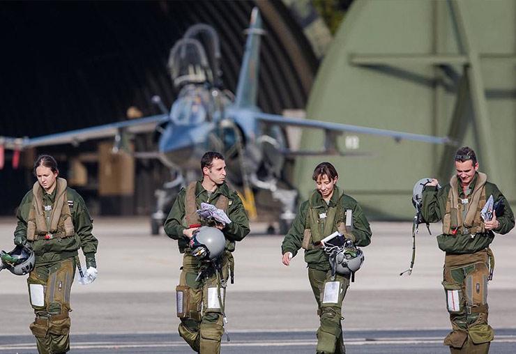 À la découverte des métiers de l'armée de l'air