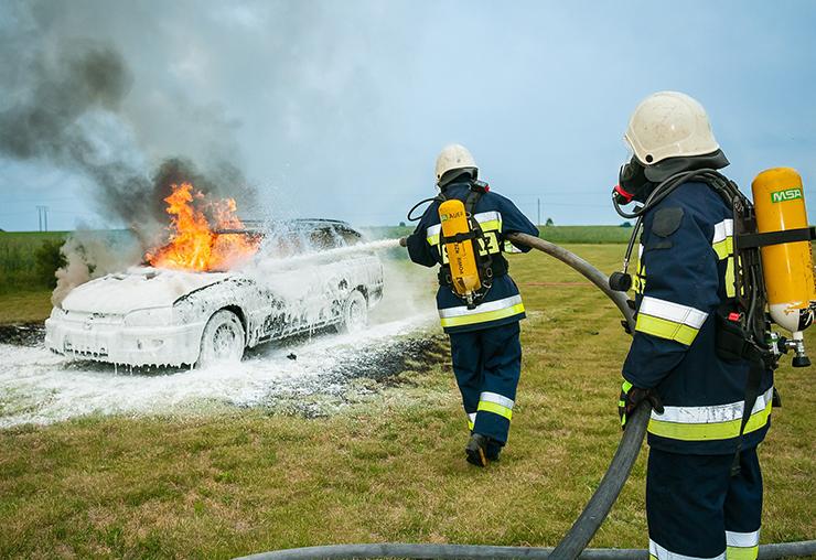 Pas de vacances pour les pompiers