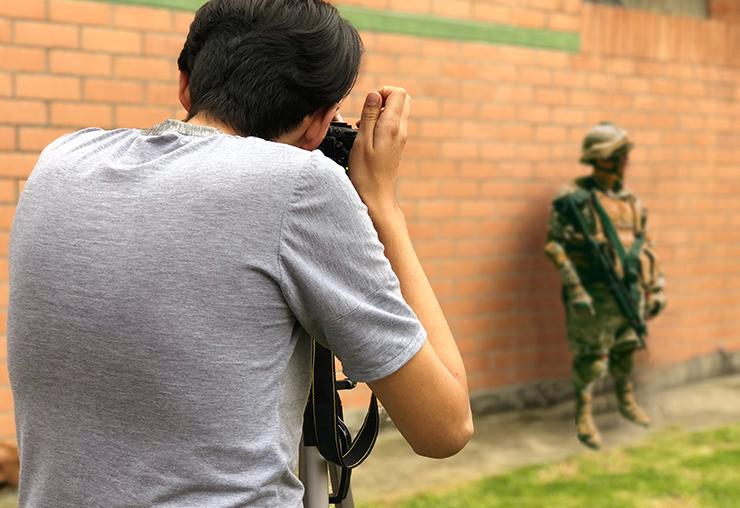 Photographe de guerre : le goût du risque