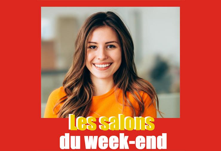 Les salons de L'Étudiant du week-end !
