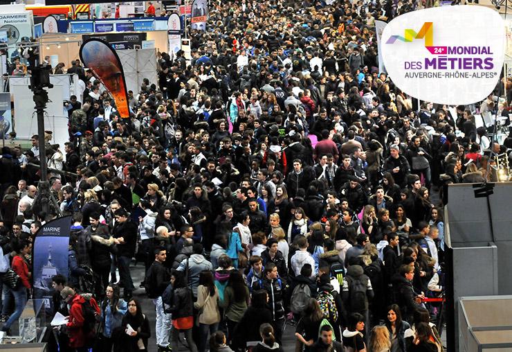 Plus de 123 000 visiteurs au Mondial des Métiers !