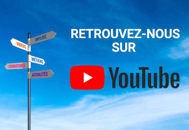 Retrouvez nos vidéos exclusives sur Youtube